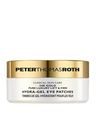 Peter Thomasroth PETER THOMAS ROTH 24 K Gold Pure Luxury Lift & Firm Hydra Gel Eye Patches, 30 patch ve spatula Renksiz